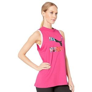 Puma beetroot purple tank top